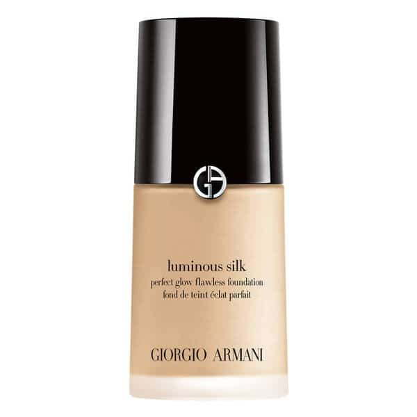 armani luminous silk foundation to help cover bruising after botox and filler treatment